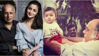 आलिया भट्ट ने पिता महेश भट्ट को उनके जन्मदिन पर हार्दिक शुभकामनाएं देते हुए कहा, 'आप एक अच्छे इंसान हैं! कभी भी किसी और की बातों पर विश्वास मत करना'