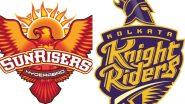 KKR vs SH IPL-13: आज कोलकाता नाइट राइडर्स से टकराएगी सनराइजर्स हैदराबाद, शाम 7.30 बजे शुरू होगा मुकाबला