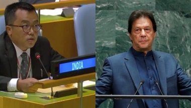 संयुक्त राष्ट्र: पाकिस्तानी PM के भाषण के विरोध में UNGA से भारत का वॉकआउट, इमरान ने अपने संबोधन में RSS और कश्मीर मुद्दे को लेकर बोला हमला