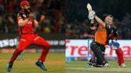 RCB vs SRH IPL 2020: आज रॉयल चैलेंजर्स बेंगलोर का सनराइजर्स हैदराबाद के बीच मुकाबला, विराट कोहली और डेविड वार्नर होंगे आमने सामनें