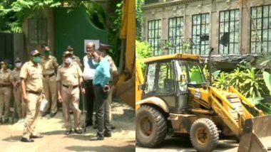 मुंबई: बृहन्मुंबई महानगर पालिका ने अवैध निर्माण को लेकर कंगना रनौत के ऑफिस पर चलाया बुलडोजर