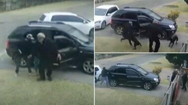 Dog Saves Owner's Life: दक्षिण अफ्रीका में कुत्ते ने अपनी जान पर खेलकर बचाई मालिक की जान, देखें इस घटना का वायरल वीडियो