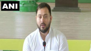 Bihar Assembly Elections 2020:  RJD नेता तेजस्वी यादव ने नीतीश सरकार को बेरोजगारी के मुद्दे पर घेरा, कहा- बिहार के लोगों ने मौका दिया तो 2 महीने में 10 लाख लोगों को देंगे नौकरी