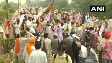Rail Roko Movement: किसानों के 'रेल रोको' आंदोलन के मद्देनजर यूपी में अलर्ट