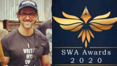 SWA Awards 2020: ऋतिक रोशन ने किया स्क्रीन राइटर्स एसोसिएशन का समर्थन, अवॉर्ड फंक्शन का बेसब्री से कर रहे हैं इंतजार