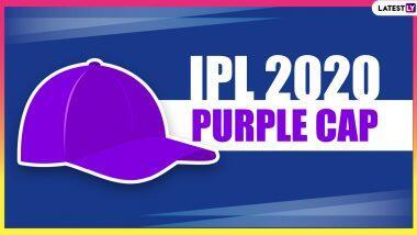 IPL 2020 Purple Cap Holder Bowler With Most Wickets: आईपीएल 2020 में पर्पल कैप की रेस में शामिल खिलाडियों की सूचि