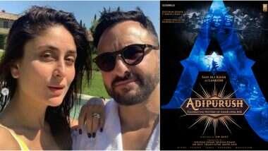 Adipurush: प्रभास की फिल्म में सैफ अली खान बनेंगे रावण, करीना कपूर खान ने ऐसे जाहिर की खुशी