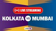 KKR vs MI, IPL 2020 Live Cricket Streaming: कोलकाता नाईट राइडर्स बनाम मुंबई इंडियंस के मैच को आप Disney+Hotstar पर देख सकते हैं लाइव