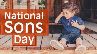 When is National Son's Day 2020: कब है राष्ट्रीय पुत्र दिवस? जानें बेटों के सम्मान से समर्पित इस दिन की तिथि और महत्त्व