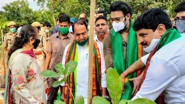 Prabhas Adopts Reserve Forest in Hyderabad: साउथ सुपरस्टार प्रभास ने हैदराबाद के आउटर रिंग रोड पर स्थित रिजर्व फॉरेस्ट को लिया गोद
