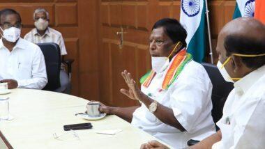 No NEET If Congress Comes to Power:  पुडुचेरी  के सीएम वी नारायणसामी ने कहा- केंद्र में कांग्रेस आई और राहुल गांधी पीएम बने तो हम रद्द कर देंगे NEET की परीक्षा