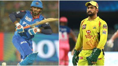 CSK vs DC 7th IPL Match 2020: आज के मैच से पहले यहां पढ़ें चेन्नई सुपर किंग्स बनाम दिल्ली कैपिटल्स के बीच कैसे रहें हैं आंकड़े