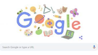 Teachers' Day 2020 Google Doodle: गूगल सेलिब्रेट कर रहा है टीचर्स डे, कोरोना काल में शिक्षकों के प्रति सम्मान जाहिर करने के लिए बनाया खास डूडल