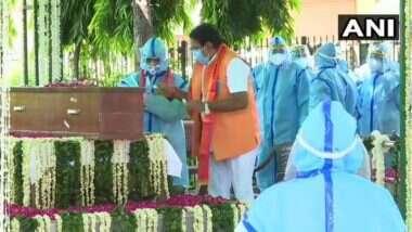Pranab Mukherjee Funeral: पूर्व राष्ट्रपति प्रणब मुखर्जी के बेटे अभिजीत ने कहा, पिता का अंतिम संस्कार पश्चिम बंगाल में करना चाहते थे, लेकिन कई बाधाओं की वजह से पार्थिव शरीर वहां नहीं ले जा सके