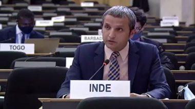 India Slams Pakistan at UNHRC: संयुक्त राष्ट्र मानवाधिकार परिषद  में भारत ने पाकिस्तान को लगाई फटकार, कहा-इस्लामाबाद ने मानवाधिकारों पर हर अंतरराष्ट्रीय संधि का उल्लंघन किया