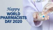 World Pharmacist Day 2020 Images & HD Wallpapers For Free Download Online: विश्व फार्मासिस्ट दिवस पर इन WhatsApp Stickers, Facebook Greetings, Messages और SMS भेजकर दें शुभकामनाएं
