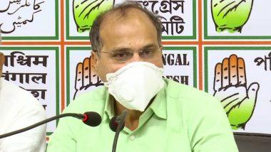 Bihar Assembly Elections 2020: कांग्रेस नेता अधीर रंजन चौधरी का बीजेपी पर हमला, कहा- सुशांत सिंह राजपूत की मौत को बिहार चुनाव के लिए ट्रंप कार्ड बना रही है पार्टी