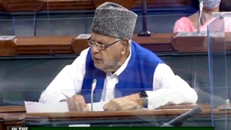 Farooq Abdullah in Lok Sabha: लोकसभा में फारूक अब्दुल्ला बोले- जम्मू और कश्मीर में लोगों के पास नहीं है 4G की सुविधा, वे कैसे आगे बढ़ेंगे