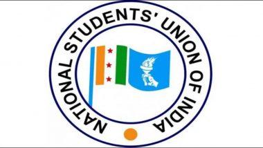 NSUI ने किया विरोध प्रदर्शन, देश भर के छात्रों के लिए टीकाकरण नीति की मांग की