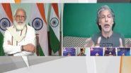 PM Modi Interacts with Fitness Influencers: प्रधानमंत्री नरेंद्र मोदी से 'आयरन मैन' मिलिंद सोमन ने की बातचीत, कहा- मैं फिट रहने के लिए जिम नहीं जाता