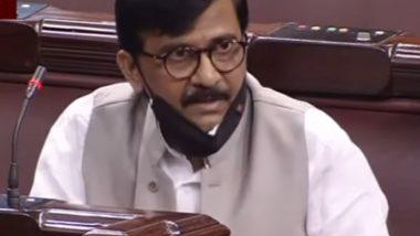 Sanjay Raut in RS: क्या भाभीजी के पापड खाकर कोरोना ठीक होगा? संजय राउत ने राज्यसभा में मोदी सरकार पर साधा निशाना