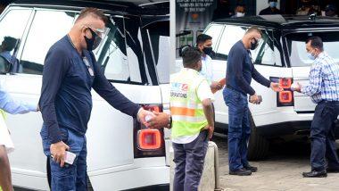 Sanjay Dutt Spotted At Airport: बच्चों से मिलने दुबई पहुंचे संजय दत्त और मान्यता? कैंसर का करा रहें है इलाज