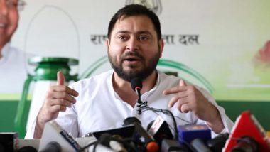 बिहार: दलित नेता हत्या मामले में नाम आने पर तेजस्वी यादव ने की सीबीआई जांच की मांग