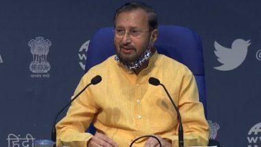 दिल्ली: केंद्रीय मंत्री प्रकाश जावड़ेकर ने किसानों के आंदोलन को लेकर साधा निशाना, कहा- सीएए की तरह किसानों को उकसा रही है कांग्रेस
