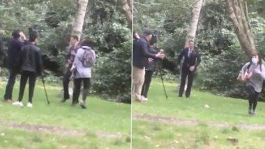 आयरलैंड के डिप्टी पीएम Leo Varadkar कैमरे के सामने दे रहे थे इंटरव्यू, महिला ने मुंह पर ड्रिंक फेंक वहां से भागी- देखें वीडियो