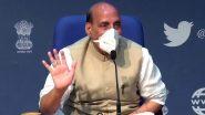 नई दिल्ली: रक्षा मंत्री राजनाथ सिंह करेंगे 7 राज्यों में 43 पुलों का उद्घाटन, तवांग में रखेंगे सुरंग की आधारशिला