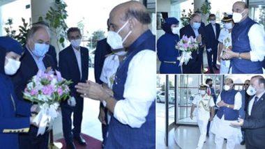 Rajnath Singh reached Tehran: रक्षामंत्री राजनाथ सिंह रूस से तेहरान पहुंचे, ईरान के रक्षामंत्री के साथ द्विपक्षीय रक्षा संबंधों पर करेंगे चर्चा