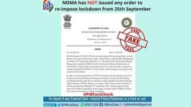 Fact Check: क्या देश में 25 सितंबर से लागू होगा लॉकडाउन? पीआईबी ने बताई वायरल मैसेज की सच्चाई