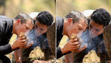 Akshay Kumar in Man vs. Wild: रसोड़े में बेयर ग्रिल्स था कहकर अक्षय कुमार ने शेयर की ये मजेदार फोटो, फैंस भी हुए लोटपोट