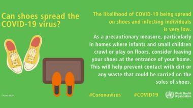 Coronavirus Mythbusters: क्या चप्पल-जूतों से होता है कोरोनावायरस? जानें सच्चाई
