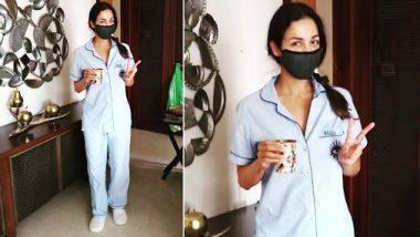 Malaika Arora recovers from coronavirus: आइसोलेशन में रहने के बाद अपने रूम से बाहर निकली मलाइका अरोड़ा, बताया अपना एक्सपीरियंस
