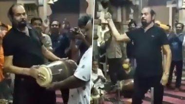 COVID-19 से ठीक होने के बाद BJP विधायक मधु श्रीवास्तव ने बिना मास्क के मंदिर में किया डांस, देखें वायरल वीडियो