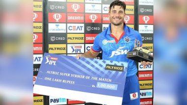 IPL 2020: हैदराबाद के साथ मुकाबले से पहले Marcus Stoinis ने कहा- हमें निडर होकर खेलना होगा