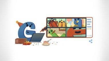 Google's 22nd Birthday: खास Doodle बनाकर गूगल मना रहा है अपना 22वां जन्मदिन