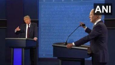 US Presidential Election 2020: आखिरी प्रेसिडेंशियल डिबेट में डेमोक्रेटिक उम्मीदवार जो बाइडन ने कोरोनो वायरस से हुई मौतों के लिए डोनाल्ड ट्रंप को ठहराया जिम्मेदार