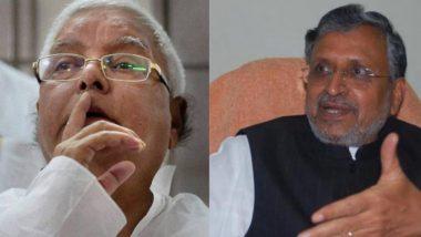 Bihar Assembly Elections 2020: सुशील मोदी का तंज, कहा- कांग्रेस ने लालू यादव और राबड़ी के राज की पालकी ढोई है