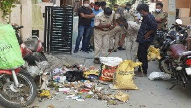 Hathras Gangrape Case: जयपुर में हाथरस के DM प्रवीण कुमार के घर के आगे गुस्साए लोगों ने फेंका कूड़ा, जाहिर की नाराजगी