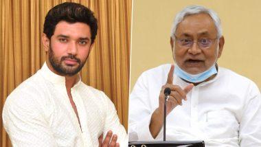 Bihar Assembly Election 2020: चिराग पासवान का सीएम नीतीश कुमार पर बड़ा हमला, कहा-शराबबंदी के नाम पर बिहारियों को तस्कर बनाया जा रहा है