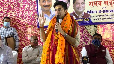 आप विधायक राघव चड्ढ़ा ने पूरा किया अपना चुनावी वादा, वाल्मीकि जयंती पर नारायणा विहार के महर्षि वाल्मीकि मंदिर मार्ग के निर्माण कार्य का किया उद्घाटन