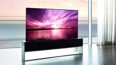 LG लेकर आया दुनिया का पहला रोलेबल टीवी, कीमत 64 लाख रुपये