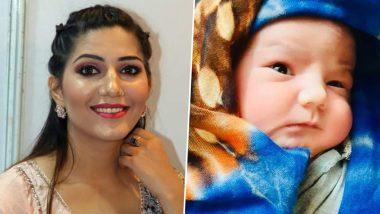 Sapna Choudhary Baby Boy Photo: हरयाणवी डांसर सपना चौधरी के बेटे की पहली फोटो हुई Viral, क्यूटनेस देखकर पिघला फैंस का दिल