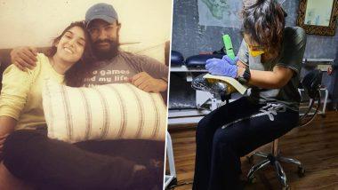 Aamir Khan की बेटी इरा खान बनी टैटू आर्टिस्ट, सोशल मीडिया पर शेयर किया ये मजेदार वीडियो