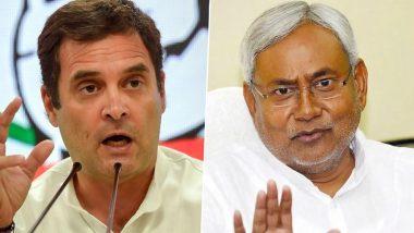 Bihar Assembly Election 2020: कांग्रेस का नीतीश सरकार पर बड़ा हमला, कहा-बिहार में ऐसा कोई भी विभाग नहीं बचा जहां 'कुशासन बाबू' ने भ्रष्टाचार नहीं किया