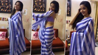 Monalisa Hot Dance Video: भोजपुरी क्वीन मोनालिसा ने कभी अलविदा न कहना पर किया रोमांटिक डांस, साड़ी पहन दिखाया जलवा