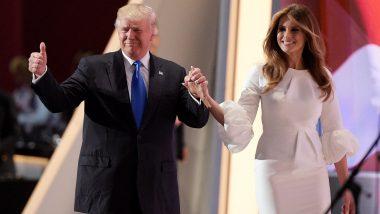 Donald Trump and Melania Trump Test Positive For COVID-19: डोनाल्ड ट्रंप और उनकी पत्नी मेलानिया हुए कोरोना संक्रमित, करीबी सलाहकार होप हिक्स की रिपोर्ट आई थी पॉजिटिव