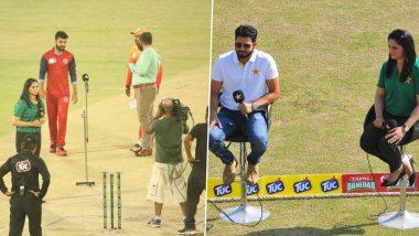 पाकिस्तानी खेल पत्रकार को पूर्व महिला क्रिकेटर ने दिखाई 'सैंडल'